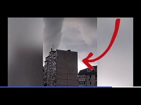 шок! Гигантский смерч вСочи попал навидео #сочи #торнадо #смерч #смерчвсочи