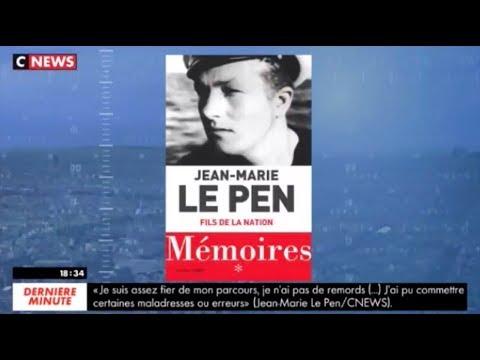 Jean-Marie Le Pen - Le Carrefour de l'info CNEWS / Jean-Pierre Elkabbach