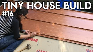 Metal Roofing  Tiny House Build - Episode 16