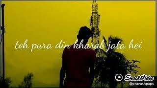 #Status king# jise hum na pasand the ab uska bhi jawab aata hai