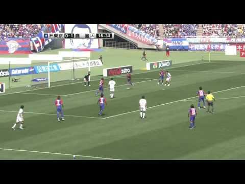 大迫勇也の半端ないJリーグ初ゴール vs FC東京