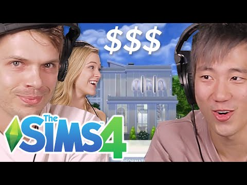 Worth It's Andrew & Steven Build A Restaurant In The Sims 4