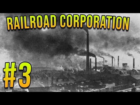 COSTRUIRE ACCIAIERIE E ATTREZZI! | Railroad Corporation Gameplay ITA E3 |