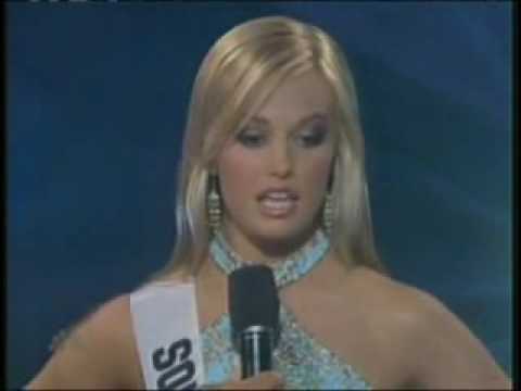 miss teen south carolina answers a question