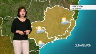 Previsão Sudeste – Grande massa seca predomina