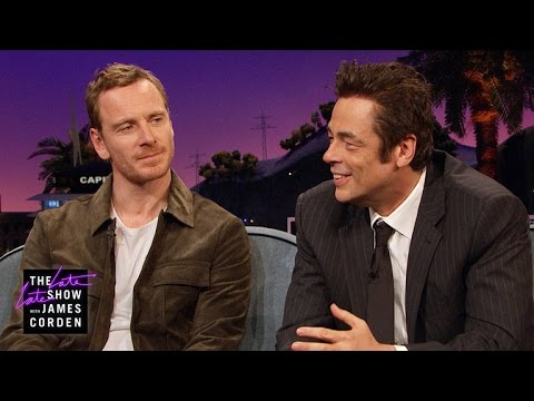 Michael Fassbender & Benicio del Toro Are Cool Enough to Catch Flies