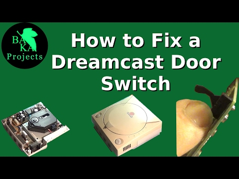 The Dreamcast Lid Switch & How to Fix it: Fix-it Friday ep 18