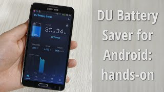 DU Battery Saver for Android: hands-on
