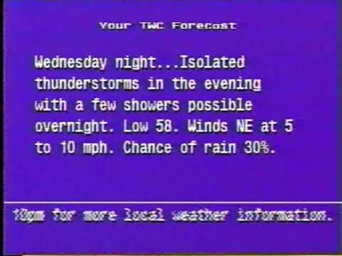TWC Local Forecast: Jamestown, North Dakota 6/30/09