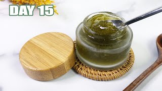 DIY Green Tea Brightening Facial Gel | CLEAR, GLOWING SKIN | Day 15 of the 25 DIY's of Christmas ☃️