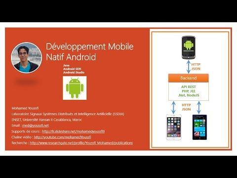Part 5   Développement Mobile Natif Android Première Application