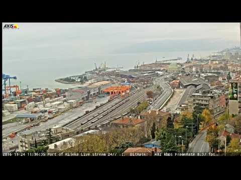 Port of Rijeka Live stream