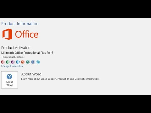 microsoft word 2016 free product key 2018