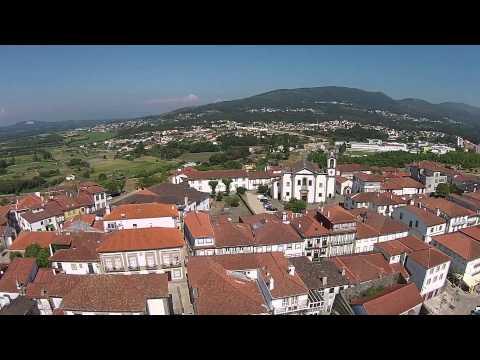 DJI Phantom Flight Vacations Northen Portugal, Valença do Minho Fortaleza (2015)