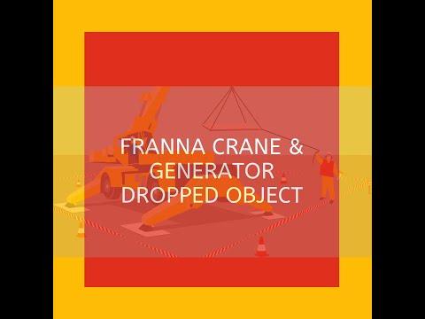 Franna Crane Dropped Object