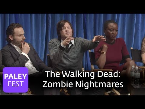 The Walking Dead - Does The Cast Have Zombie Nightmares?