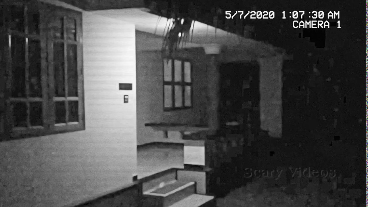 Alien or Ghost!? CCTV FOOTAGE FROM THE MOST HAUNTED HOUSE
