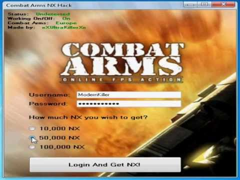how to get free nx cash for combat arms 2016