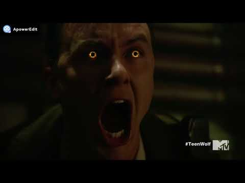 "Teen Wolf 6x14 'Face To Faceless' The Pack And The Hunters ""Parrish VS Faceless"" *Full Fight Scene*"