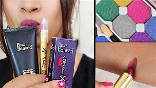 Blue Heaven Review _ Makeup UNDER Rs 200 | Budget Beauty #8 _ Affordable makeup SuperWowStyle Prachi