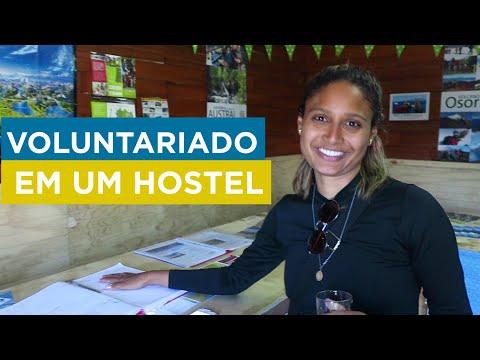 FAZENDO VOLUNTARIADO EM UM HOSTEL | EPISÓDIO 38 | PUERTO VARAS - CHILE