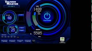 Налаштування програми Thunder Master для відеокарт GeForce. Розгін і майнінг.на GeForce 1080 Ti.
