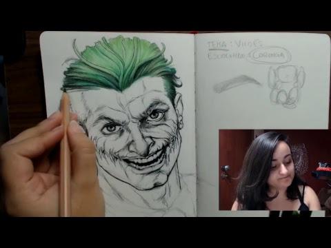 🔴 Desenhando AO VIVO - Torrando o Sketchbook (Leda Art Supply)