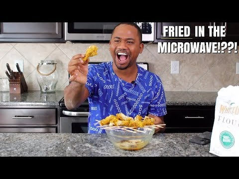 I FRIED CHICKEN IN THE MIRCROWAVE!