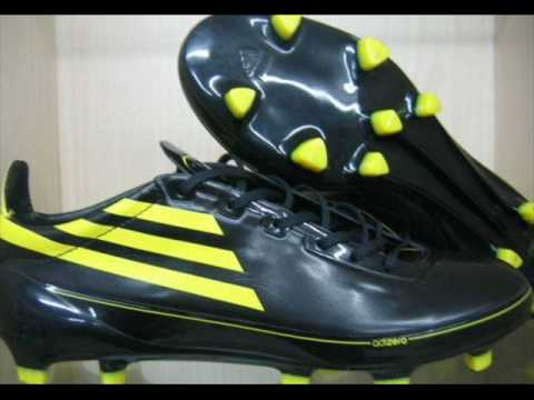 bb728cba356 Adidas F50 AdiZero Black Yellow - YouTube
