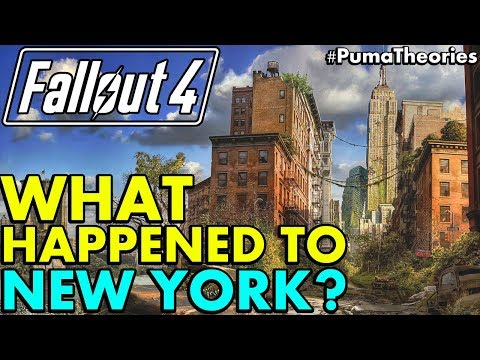 Fallout 4: What Happened to New York City after the Bombs? (Lore and Theory) #PumaTheories