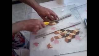 Tutorial demarchetaria 3d - Cortando losangos perfeitos.