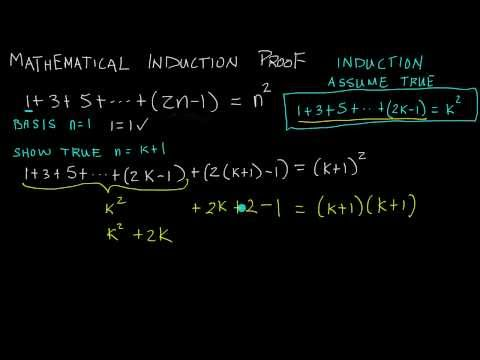 Proof By Mathematical Induction - How To Do A Mathematical Induction Proof ( Example 2 )