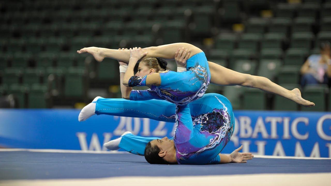 WC Orlando (USA) 2012 -- Russia 1, Mixed Pair - YouTube Acrobatic Gymnastics Mixed Pair