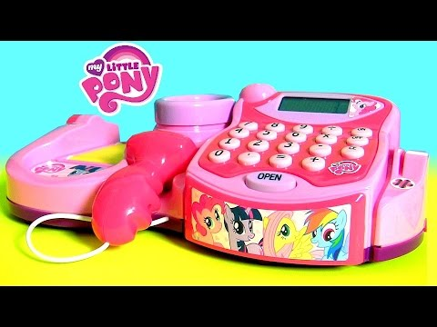 ToysBR Caixa Registradora Meu Pequeno Ponei Brinquedo Juguete Caja registradora de Mi Pequeño Pony