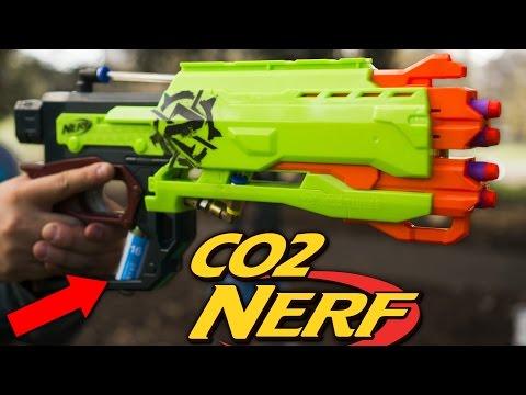 CO2 SEMI-AUTO NERF CROSSFIRE - James' HvZ Loadout