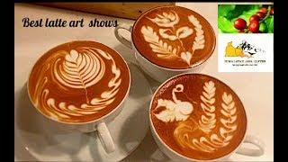 Video The best latte art lesson show /Himalayan java coffee download MP3, 3GP, MP4, WEBM, AVI, FLV Juni 2018