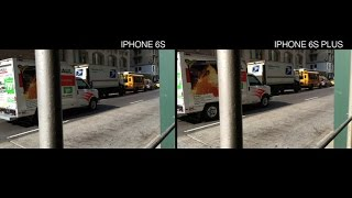 How iPhone 6S Plus stabilized video compares to the iPhone 6S