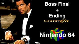 Boss Final + Ending : Goldeneye 007 (Nintendo 64)