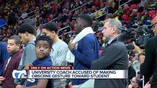 Detroit Mercy basketball coach under fire for alleged obscene comment