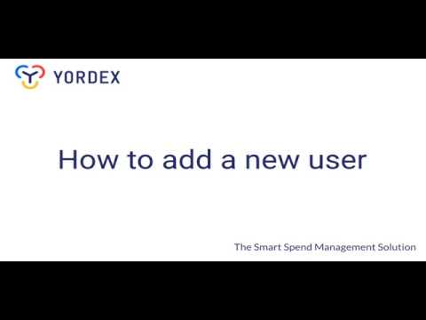 Yordex - Adding your team