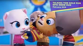 Минимульты Говорящий Том 2019 #3 говорящая ханк, говорящая Ангела & Говорящий Том