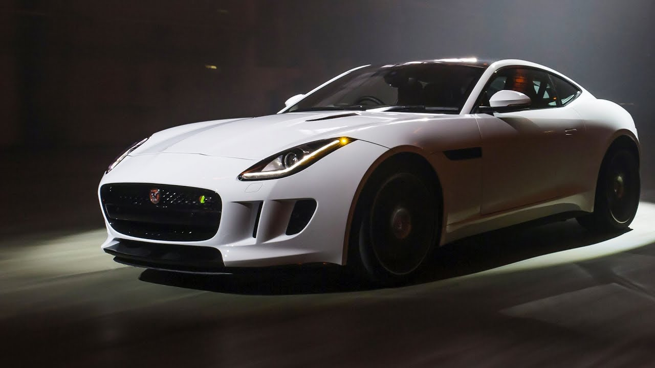 F Type Coupe >> 2014 Jaguar F-TYPE R Coupé FIRST DRIVING (550 HP) - YouTube