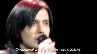 "Gela Guralia - Memory из мюзикла ""Cats"" (Новосибирск 8.03.15) с субтитрами"
