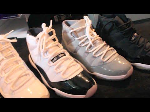 """Sneak Peek"" into Dustins Sneaker Closet (Vlog #56)"