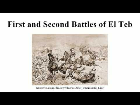 First and Second Battles of El Teb