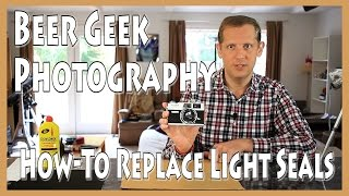 How To Replace Film Camera Light Seals, Cheap DIY!