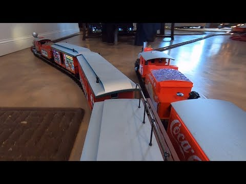 GoPro Mounted On G Scale Model Train