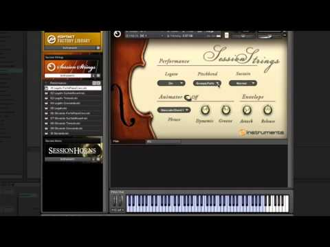 Session Strings - Changing Articulations in Live