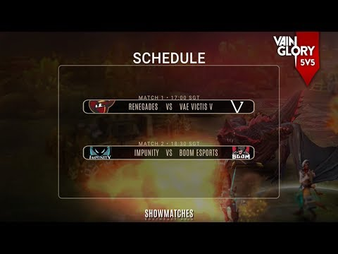 Vainglory 5V5 Show Matches • Southeast Asia • Week 1 - Day 1