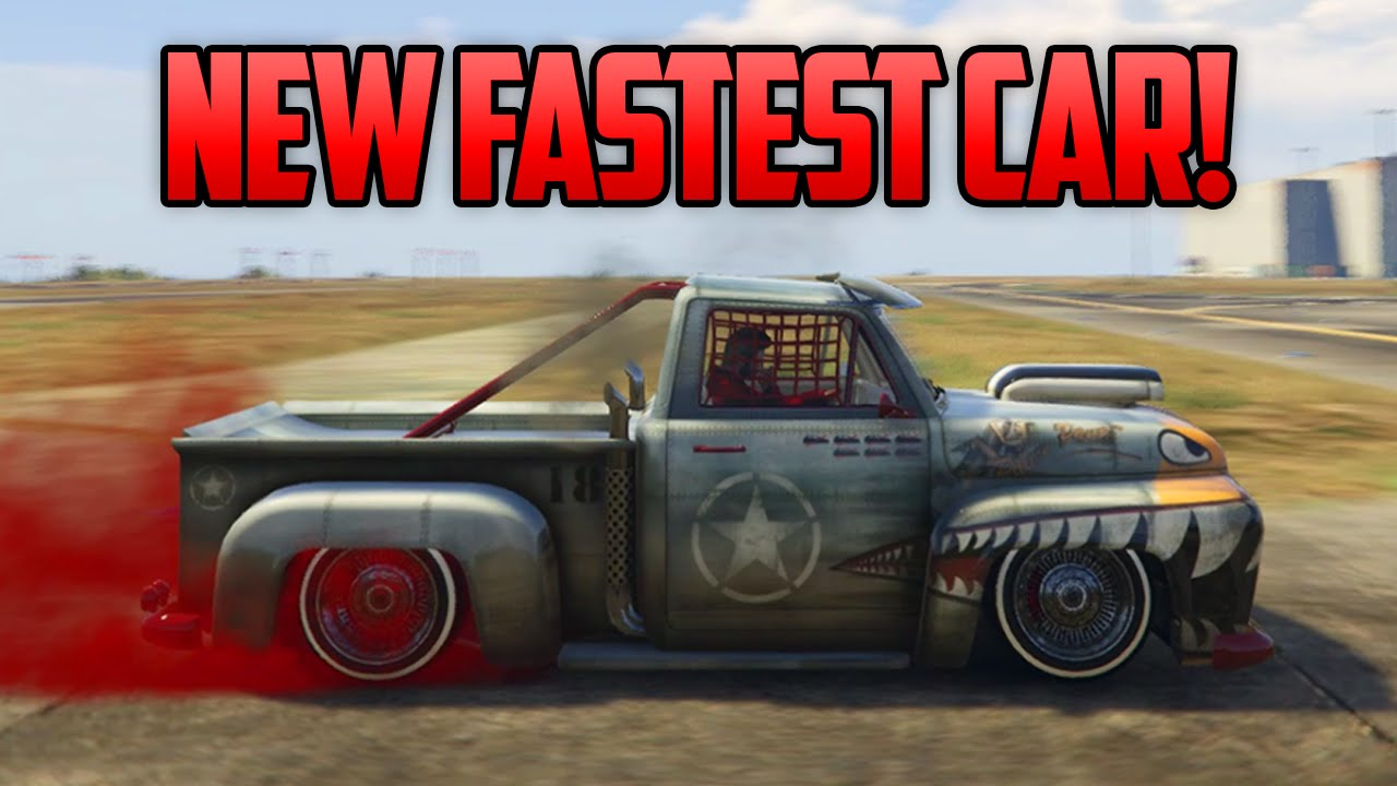 How To Get The Fastest Car In Gta  Online